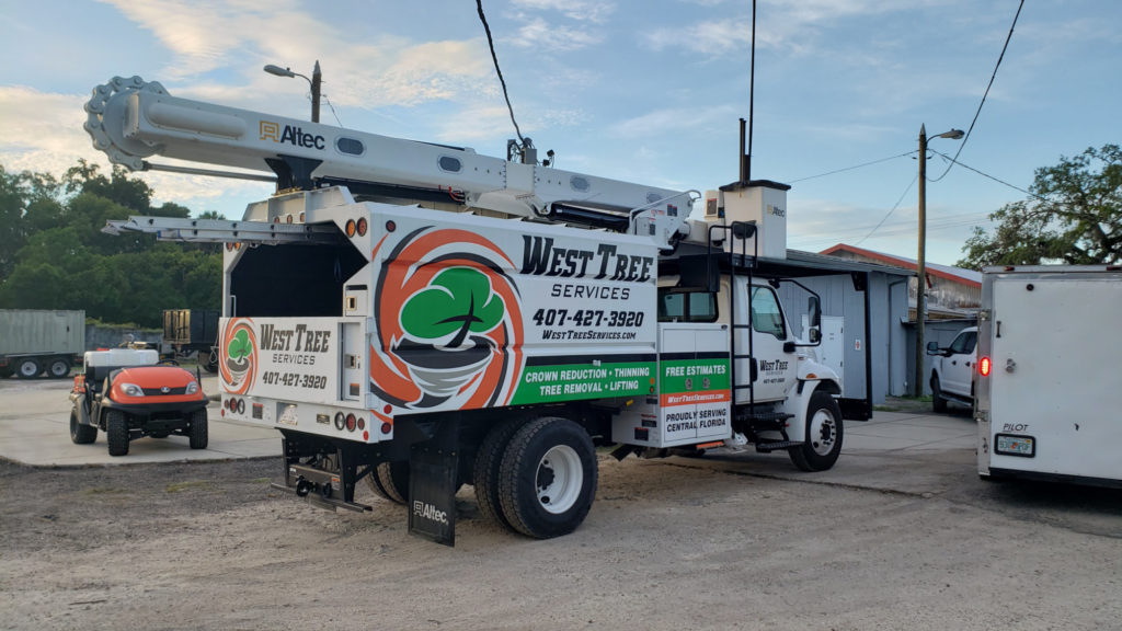 West Tree Services - Truck 2